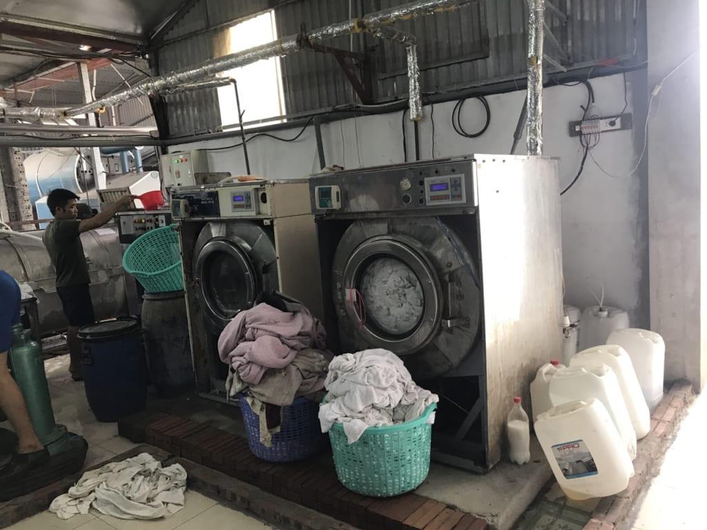 chọn máy giặt công nghiệp công suất như thế nào