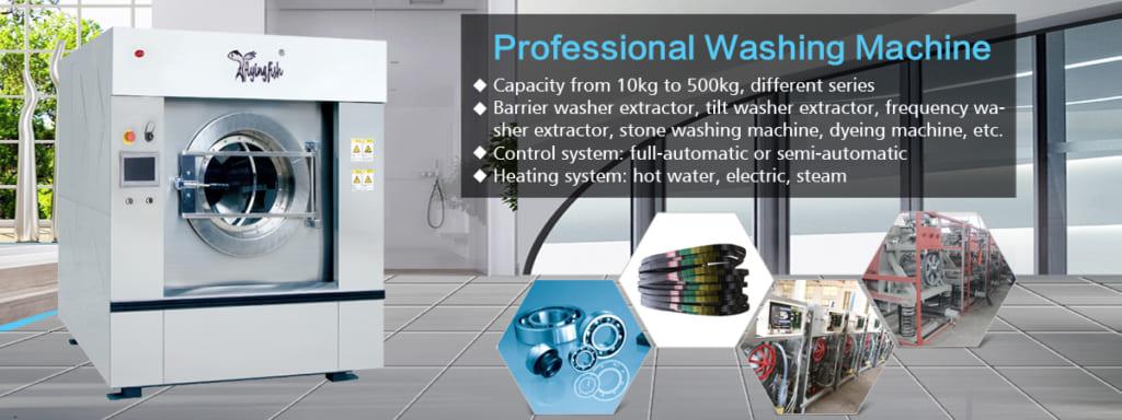 Máy giặt công nghiệp Trung Quốc Flying Fish