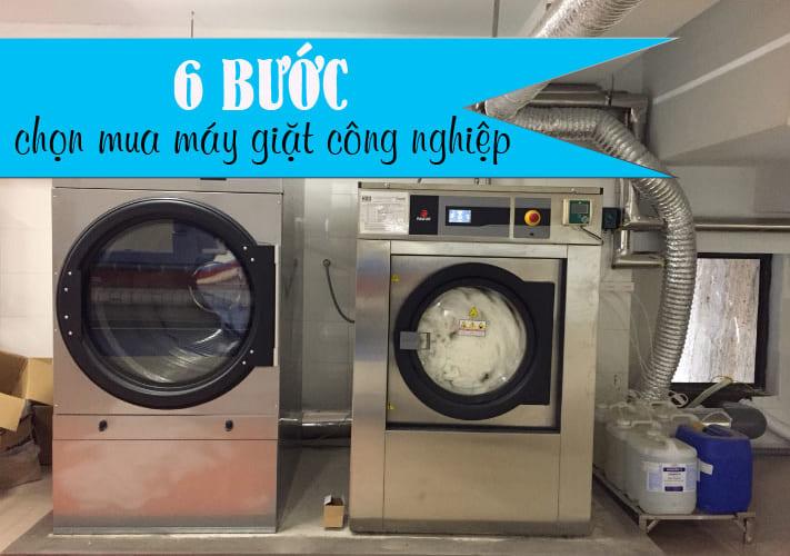 6 bước chọn mua máy giặt công nghiệp tốt nhất đạt hiệu quả giặt là cao