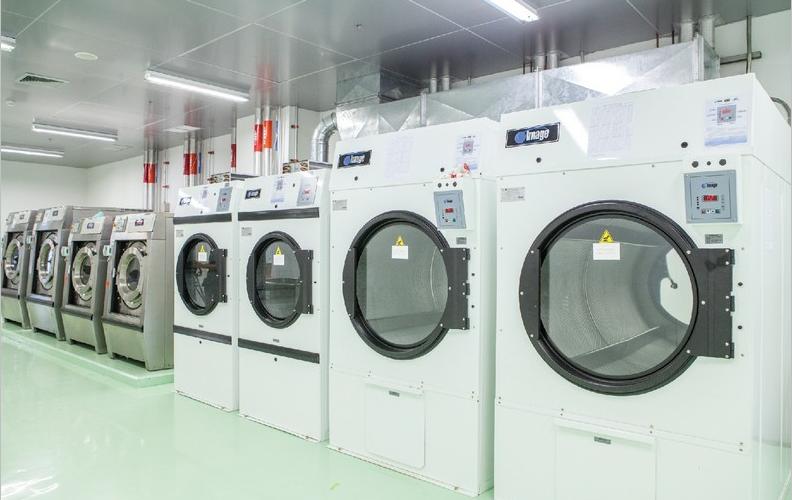 Vận hành máy giặt công nghiệp Image cho xưởng giặt là