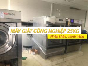 máy giặt công nghiệp 25kg nhập khẩu chính hãng